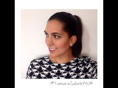Maquillaje natural para días calurosos - Tutorial Tamara Sabaté