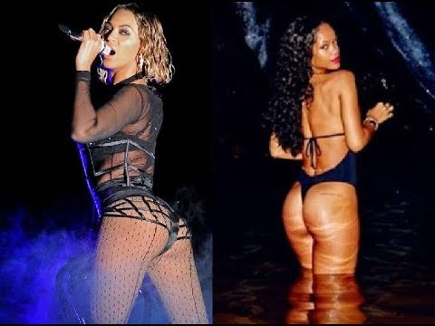 Sexiest Twerk battle In History Beyonce Vs Rihanna Booty twerk battle