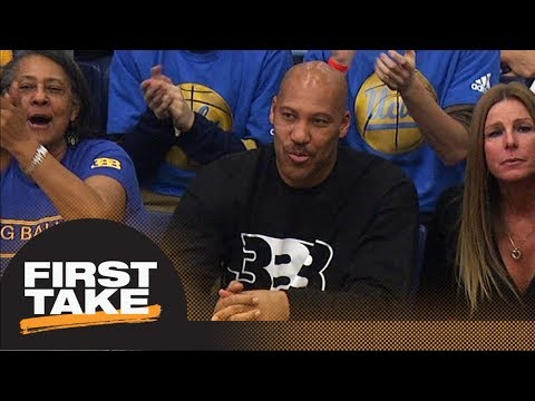 LaVar Ball won't be an issue for LeBron James will be issue for Luke Walton First Take ESPN