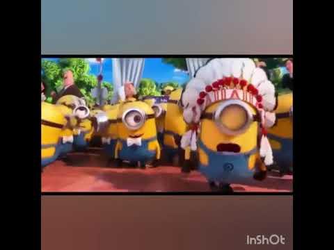 Os Minions dançado o funk Harry Porra e a Brunxinha Rabuda