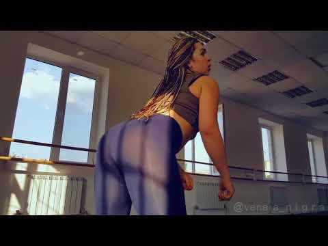 WHITE GIRL Twerk booty shake sexy ass twerk 1