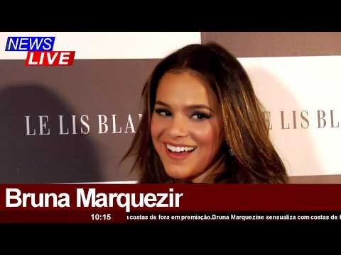 Bruna Marquezine sensualiza em seu looks em premiação Profissionais do Ano