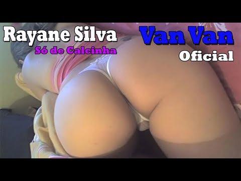 Rayane da Silva só de calcinha fio dental ao som do MC Van Van é muito Blayt