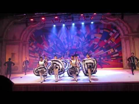 A Cultura da Moda - Dançarinas de Cancan - Ballet Intermediário - 03 12 2017