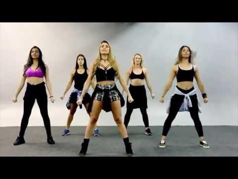 Bailarinas do Gugu ensinam a dançar refrão da música Sim Ou Não Anitta feat Maluma
