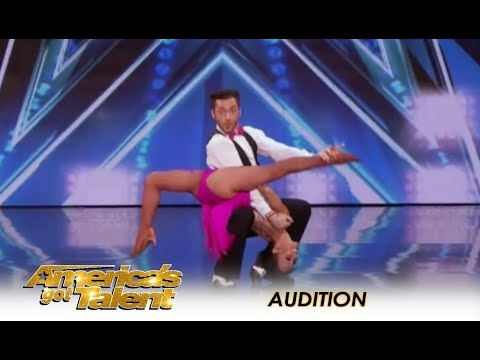 Quin & Misha 71-Year-Old SHOCKING Age-Defying Dance Moves America's Got Talent 2018