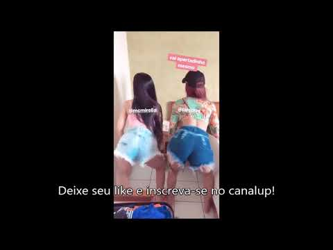 MC Mirella e Lara Silva - Dançando Quadradinho Coreografia Funk - Parte 1
