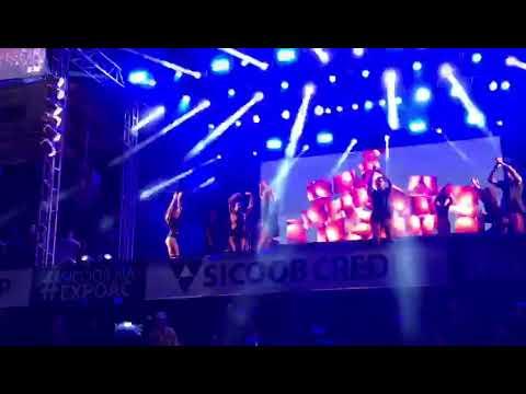 Bailarinos da Anitta dançando funk na Expoac 2018 - Cacoal Rondônia