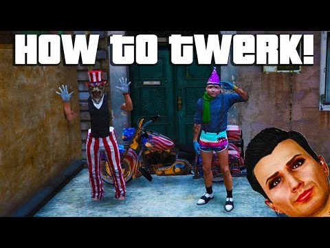 GTA 5 Online - HOW TO TWERK Shake Your Booty GTA V 1 27