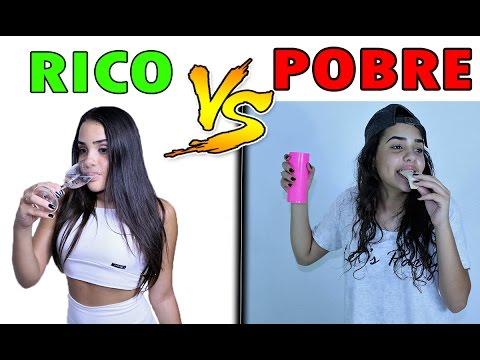 RICO VS POBRE - ANO NOVO