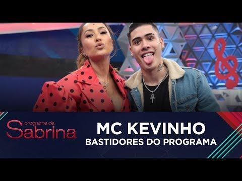 Veja os bastidores do Programa da Sabrina com Mc Kevinho