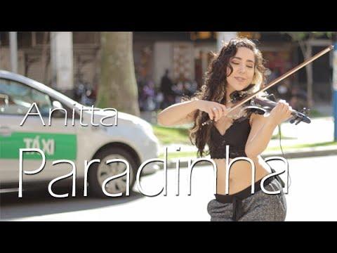 Paradinha - Anitta Violino Cover por Lyarah Live