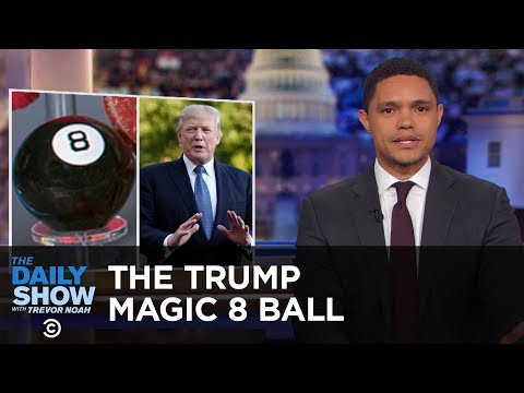 The National Toy Hall of Fame & The Trump Magic 8 Ball The Daily Show