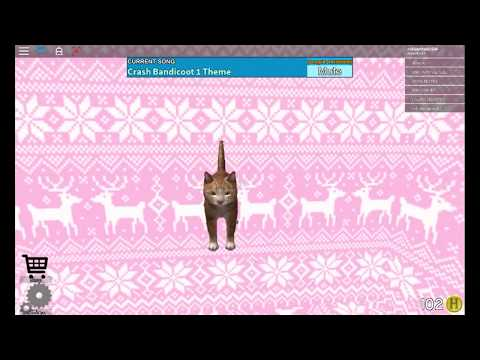 Roblox the normal elevator cats im a kitty cat and i dance dance dance