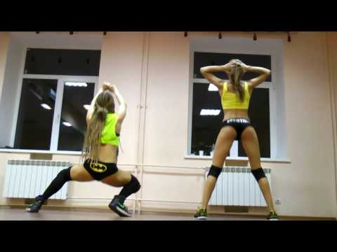 Студия Танцев GRANDES Twerk Booty dance Тверк Pitbull feat Chris Porter - The Water Dance