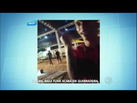 Flagra baile funk termina em quebradeira no Distrito Federal