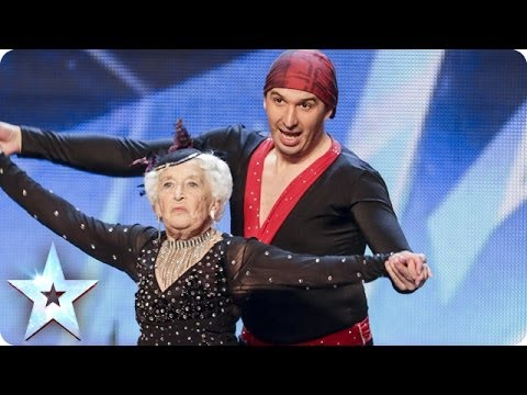 Spectacular Salsa - Paddy & Nico - Electric Ballroom Britain's Got Talent 2014