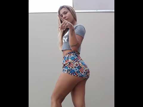 Allana Jhessy - loira tatuada rebolando gostoso dançando funk