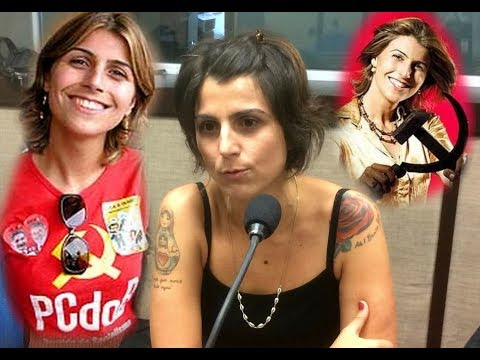 Veja quem é a monga Manuela D'avila vice do Haddad