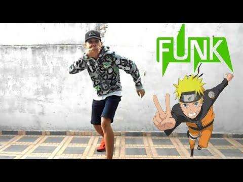 Funkeiro dançando música do Naruto