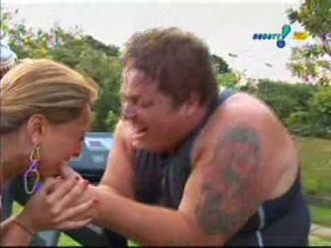 Castigo das Panicats - Chupar dedão do Gordo - Pânico Na Tv