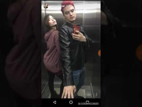 Bruna namorada de Felipe Neto dançando funk