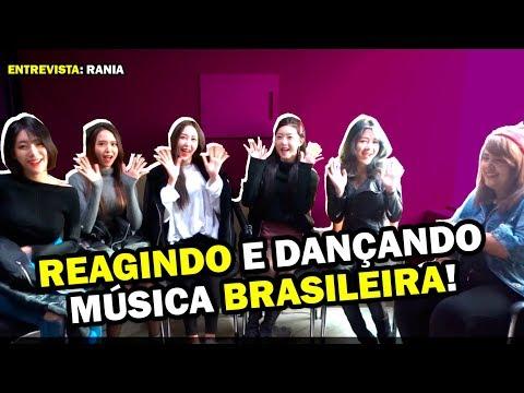 GIRLGROUP de KPOP REAGE a PARADINHA da ANITTA feat RANIA