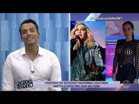 Exclusivo Madonna liga para Anitta e pede parceria de Funk