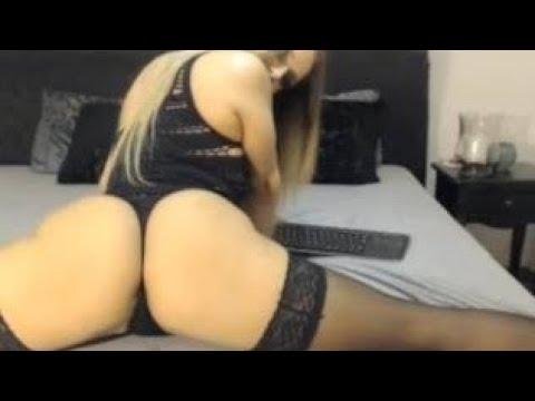 HOT WHITE GIRL big booty shake sexy ass twerking X TWERK 3