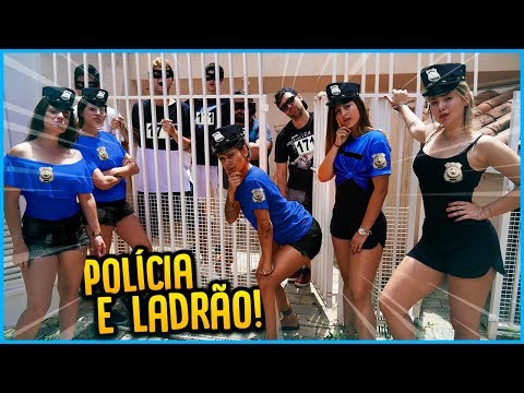 5 MENINOS VS 5 MENINAS POLICIA E LADRÃO REZENDE EVIL