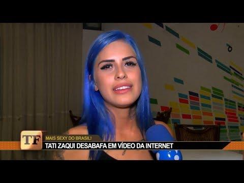 Tati Zaqui Eleita Mulher Mais Sexy Do Brasil