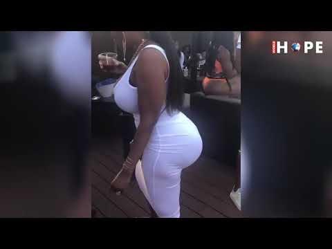 Beautiful big ass twerk his booty