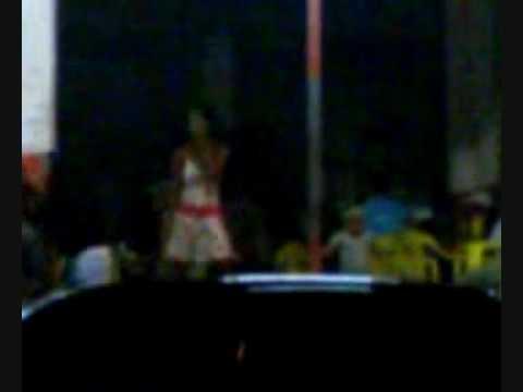 Dançarina de palco
