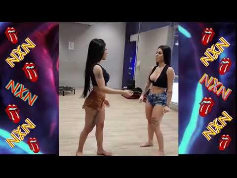 Irmãs Novinhas Lindas Gostosas Dançando Funk