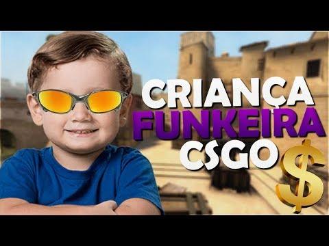 FINGINDO SER CRIANÇA FUNKEIRA NO CSGO 2