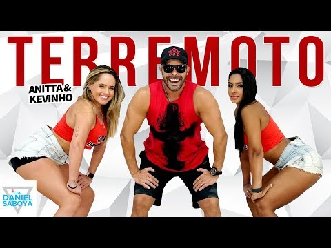 Terremoto - Anitta & Kevinho - Cia Daniel Saboya Coreografia