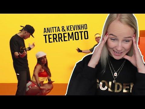 REAGINDO À TERREMOTO Anitta e Kevinho
