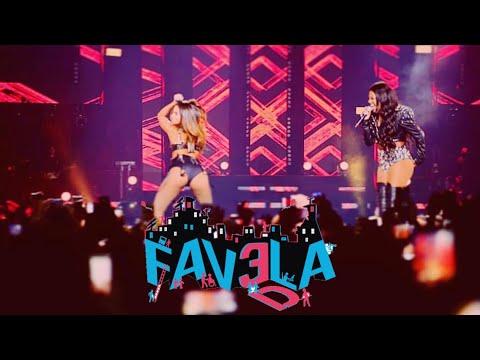LUDMILLA feat ANITTA - Favela Clipe Oficial
