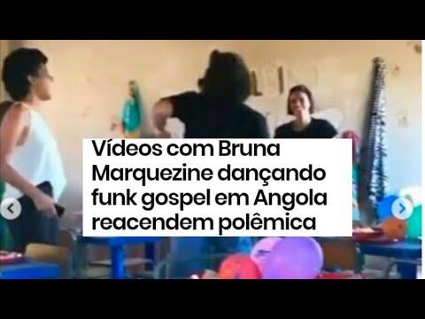Vídeos com Bruna Marquezine dançando funk gospel em Angola reacendem polêmica