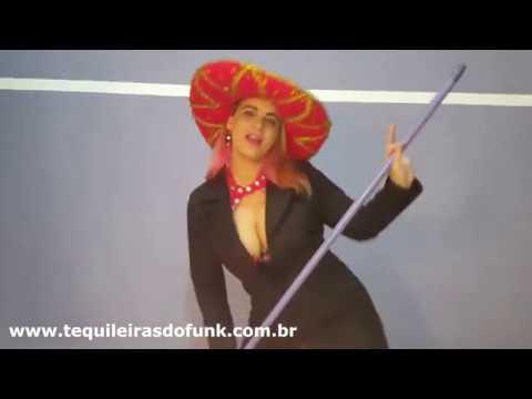 Débora Fantine Dançando Funk Dança do Mexico das Tequileiras do Funk