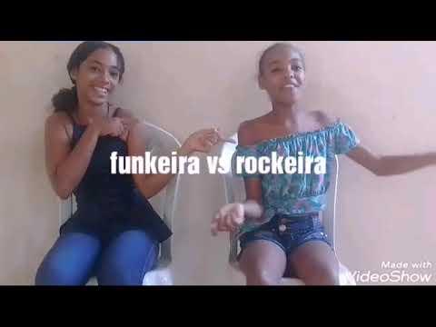 Rockeira vs funkeira erros de gravação Ana Clara fez o quadradinho