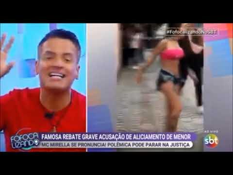 FOFOCALIZANDO NO SBT FUNKEIRA FAMOSA REBATE ACUSAÇÃO DE ALICIAMENTO DE MENOR 16 04 19 PARTE 3