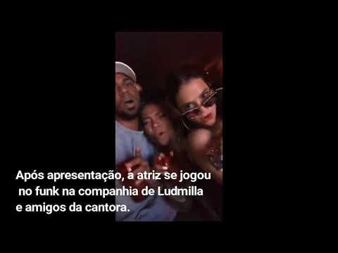 Bruna Marquezine cai no funk com Ludmilla após show do Coldplay 6