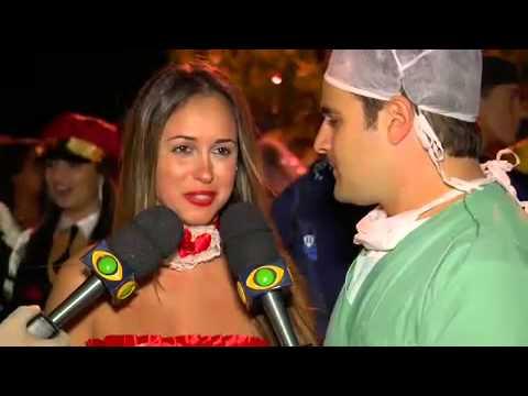 Vesgo Bola e as Panicats invadem Festa à Fantasia - Panico na Band 02 12 2012