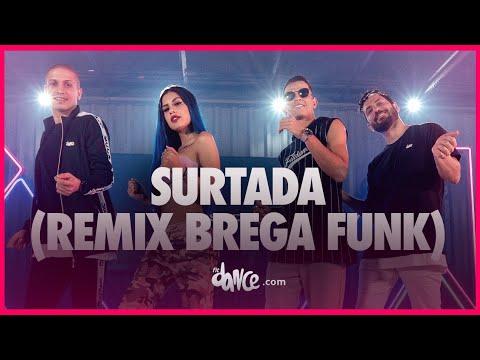 Surtada Remix Brega funk - Dadá Boladão Tati Zaqui ft OIK FitDance TV Coreografia Oficial