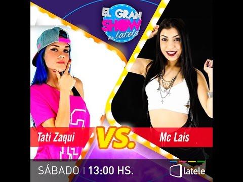 EL GRAN VERSUS MC LAIS Vs MC TATI ZAQUI EN VIVO 01-10-2016