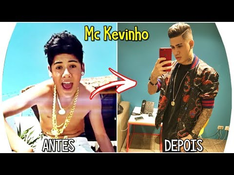 Antes e Depois Dos Funkeiros MC Kevinho Pedrinho Livinho Anitta Etc