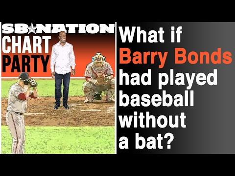 What if Barry Bonds had played without a baseball bat Chart Party