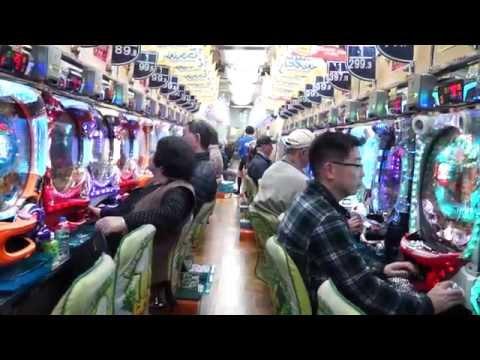 Typical Pachinko Machine Tokyo 2014