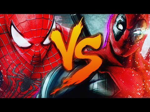 Homem-Aranha VS Deadpool Duelo de Titãs